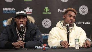 CHARLO VS HARRISON / CHARLO VS KOROBOV - FULL POST FIGHT PRESS CONFERENCE VIDEO