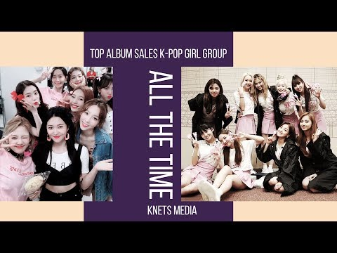 Top Album Sales K-pop Girl Group All The Time