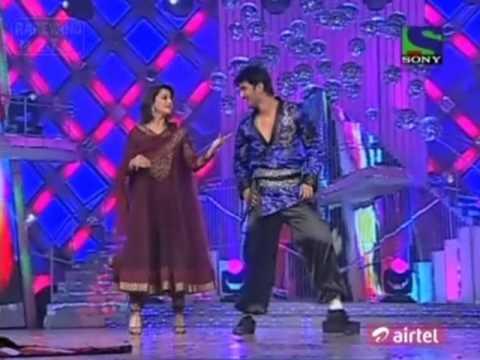 Madhuri dances with Sushant. JDJ4 28th Feb 2011