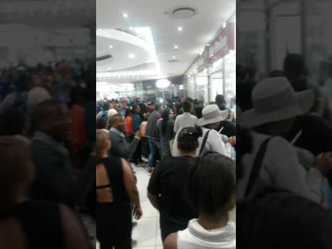 BLACK Friday shopping in Promonade mall mitchells plain Cape Town