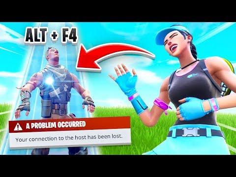 ALT+F4 = FREE SKIN In Fortnite (It Worked)