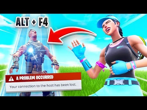 ALT+F4 = FREE SKIN In Fortnite (It Worked)
