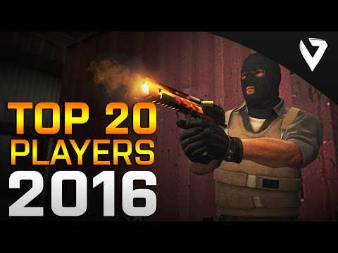 CS:GO - Top 20 Players of 2016 (Fragmovie)