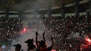 LUAR BIASA !!! Aksi The Jakmania Padati Stadion Patriot Bekasi   Persija Vs Madura United