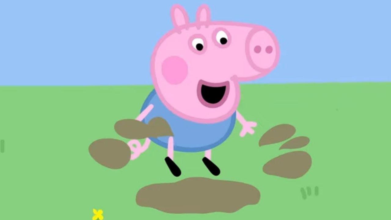 Peppa Pig 🕳👈 çamurlu su birikintileri |  Programının en iyi bölümleri | Çocuklar için Çizgi Filmler