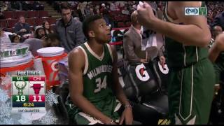 NBA 2016/17 : Milwaukee Bucks vs Chicago Bulls - Dec 16, 2016