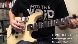 """In The Evening"" Guitar Intro played on a GIZMOTRON !"