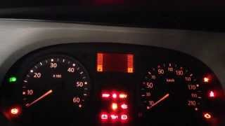 Renault Trafic - Service Light Reset