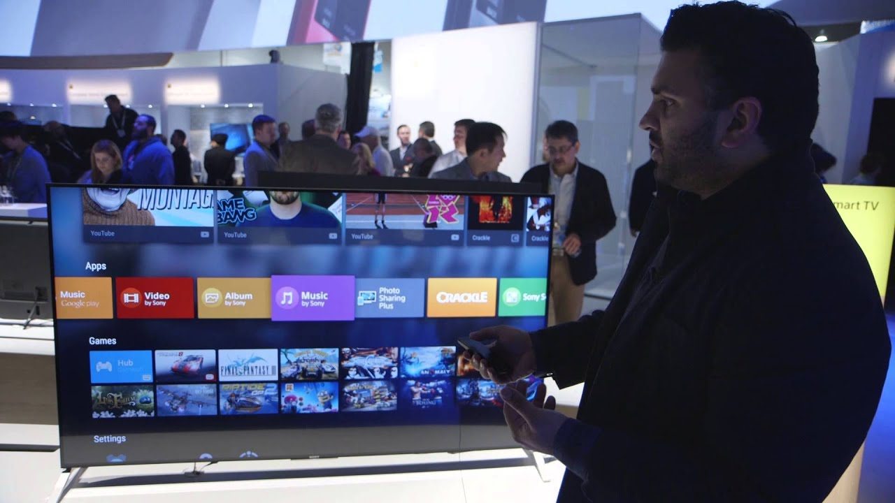 All of Sony's new smart TVs run on Android TV - The Verge
