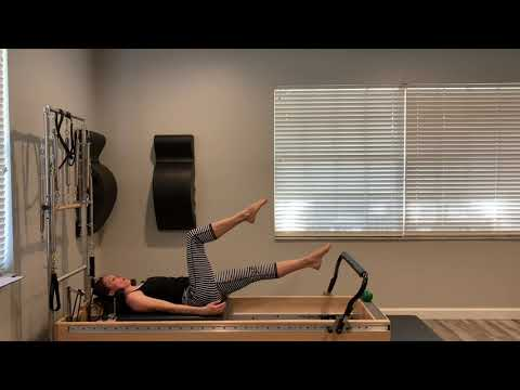 Total Tower Tone Pilates Reformer Tower workout #2