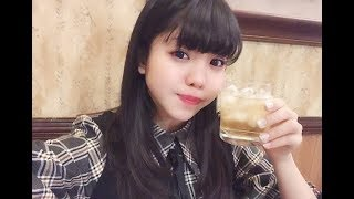 Hinata sato's first drink and funny reaction(佐藤 日向) 初お酒 Vide...