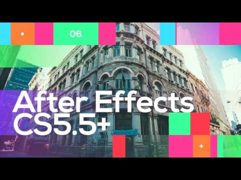 Gradient Shift Slideshow - After Effects template from Videohive