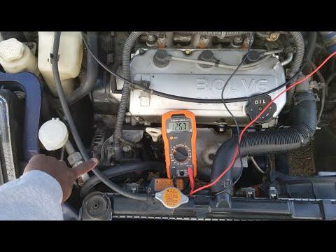 checking , testing alternator mitsubishi eclipse 2001 youtube Ford Alternator Wiring Diagram