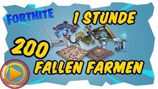 1 STUNDE FALLEN FARMEN - Fortnite Rette die Welt