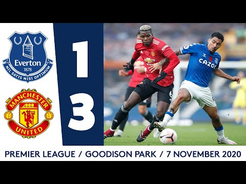 EVERTON 1-3 MANCHESTER UNITED | PREMIER LEAGUE HIGHLIGHTS