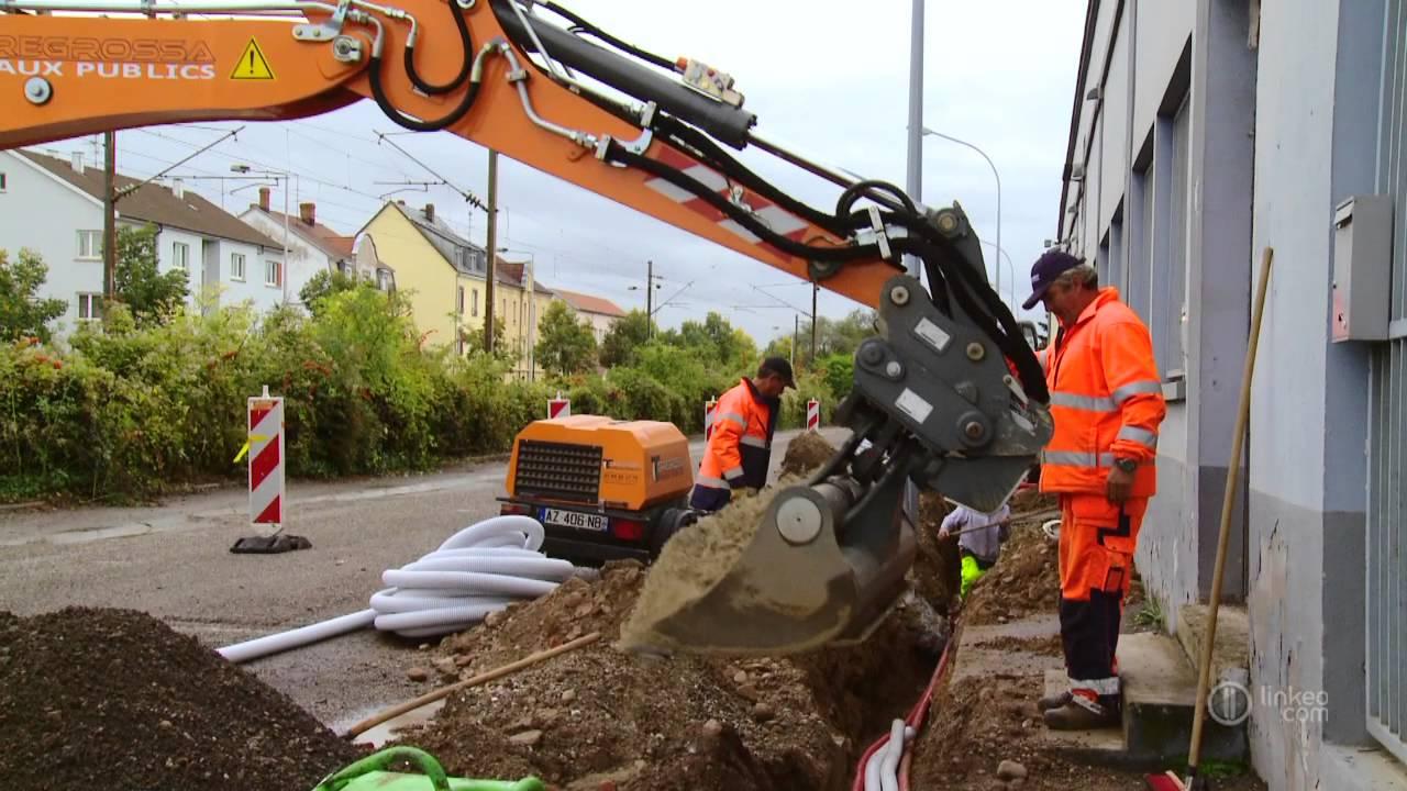 Terrassement voirie assainissement travaux publics en for Travaux de terrassement prix