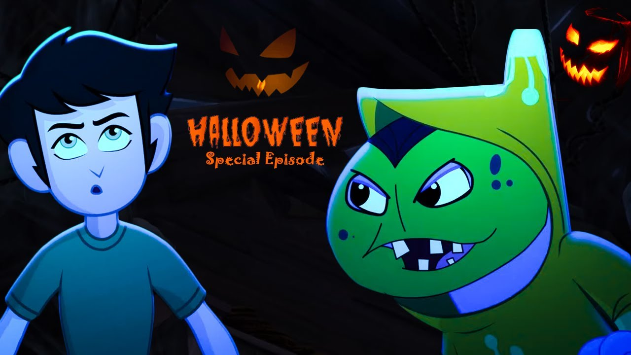 Kid Krrish English | Halloween Special | Scary Halloween Cartoons for Kids | Full Episodes