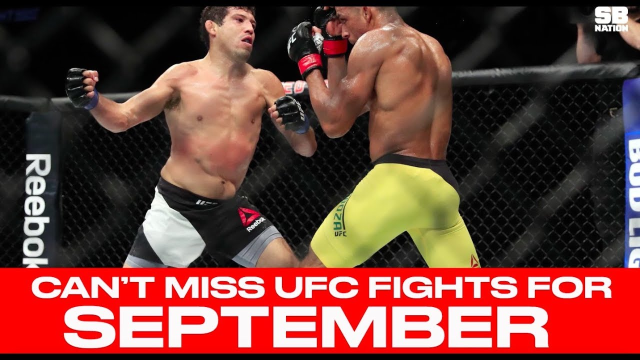 UFC Schedule: Top 10 Must Watch Fights For Sept  2017