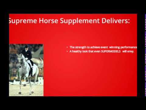 daily vitamin and mineral requirements for horses|Supreme Horse|(435)770-1167