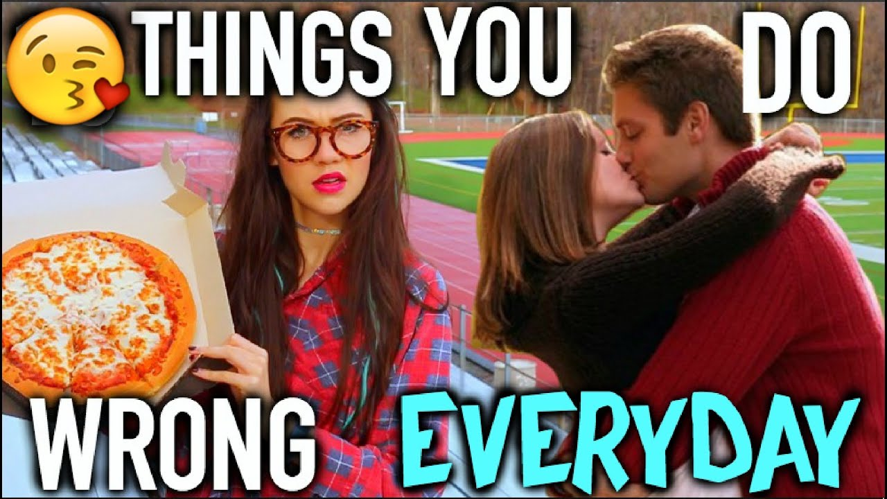 Things TEENAGERS Do WRONG EVERYDAY