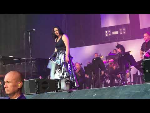 Evanescence feat. Lindsey Stirling - Hi-Lo [Live Debut] - 7.6.2018 - Starlight Theatre - FRONT ROW