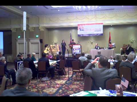 Erin McLendon at Constitution Party Convention II.