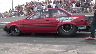 Nyce1s - El Humilde 2JZ Toyota Corolla @ Pan American Nationals Atco 2014...