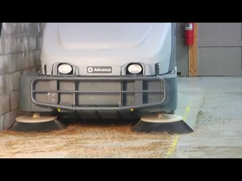 Total Clean Equipment Company - Advance Dust Guard | Floor Sweepers With Dust Control