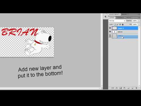 How to make a cool signature for forums with Adobe Photoshop CS5.