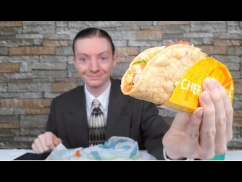 Taco Bell's NEW Cantina Crispy Melt Taco Review!