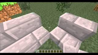 Minecraft: corner stairs Resimi