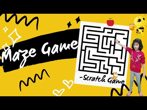 Easy Maze Game on Scratch 3.0 (Step by Step Scratch Tutorial)