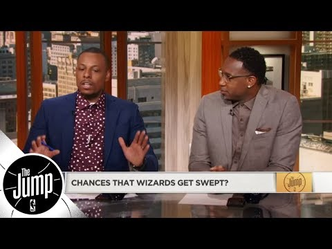Paul Pierce dishes on former Wizards teammates John Wall and Bradley Beal  The Jump  ESPN