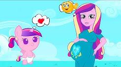 MLP -My Little Pony PREGNANT Animation Rainbow Rock Girls