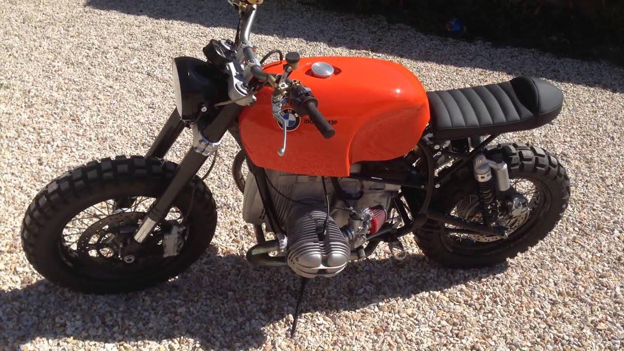 Famoso BMW R100 RT MOTORIEEP Scrambler café racer street tracker  QE27