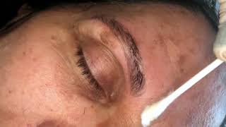 Microblading by Ashley Colando Eyes On The Bride Chicago