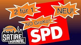 Florian Schroeder: Halb gewählt, aber SPD-Doppelspitze – Nowabo und Esken