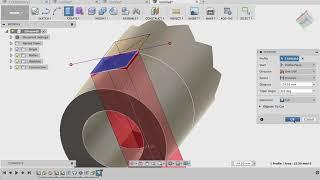 Уроки Fusion 360 - 3D моделирование коронной шестерни