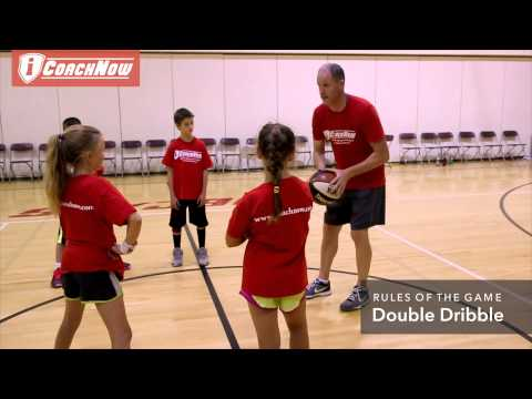 Basketball Rules - Double Dribble- Coaching Youth Basketball