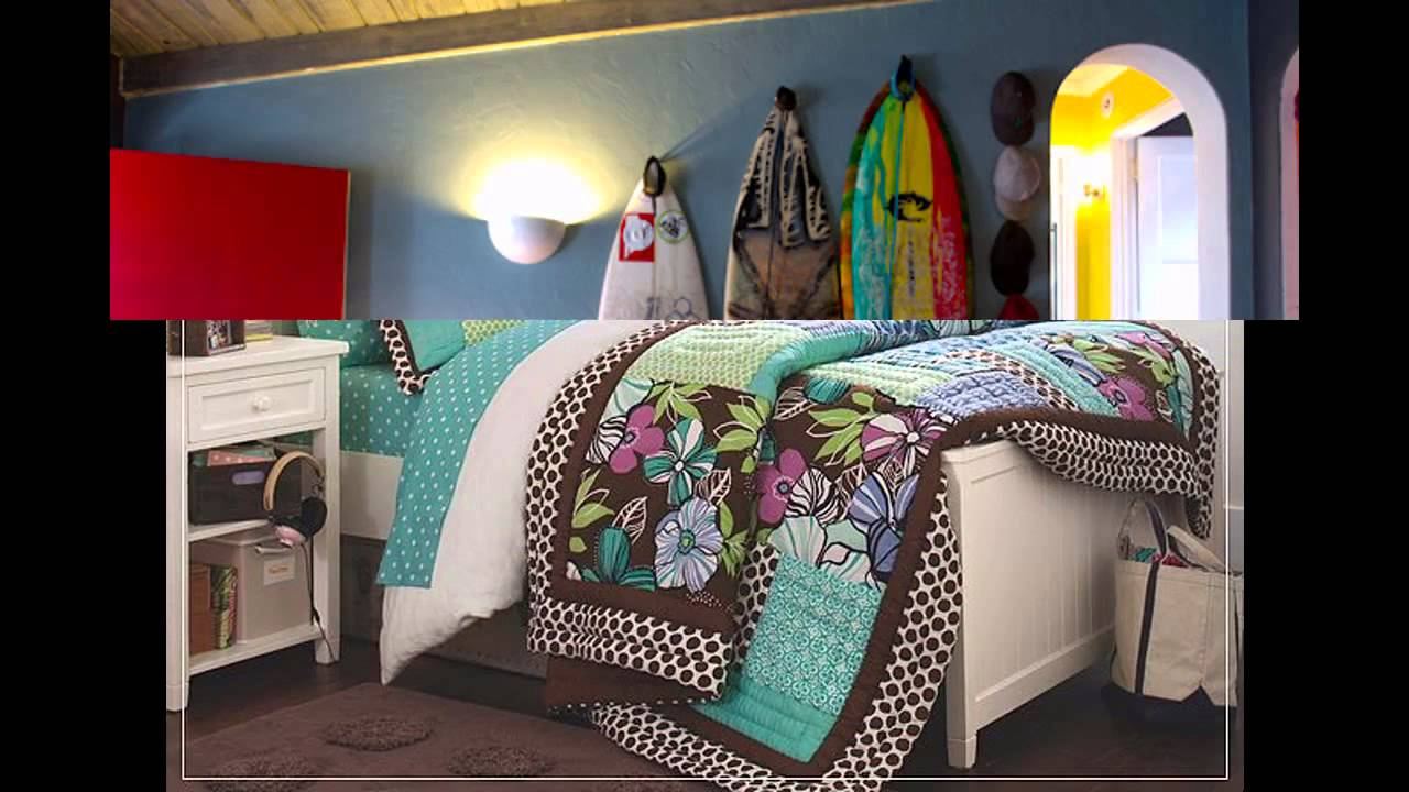 Etonnant Surf Bedroom Decorations Ideas