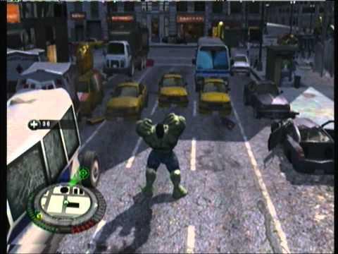 The Incredible Hulk (PS3) - Free Roam Gameplay Part 8 (HD)