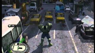 The Incredible Hulk (PS3) - free roam gameplay part 8 (HD)