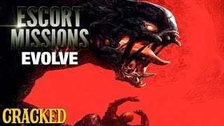Why EVOLVE is the Best Game Of 2015 (at Causing Seizures) - Escort Mission