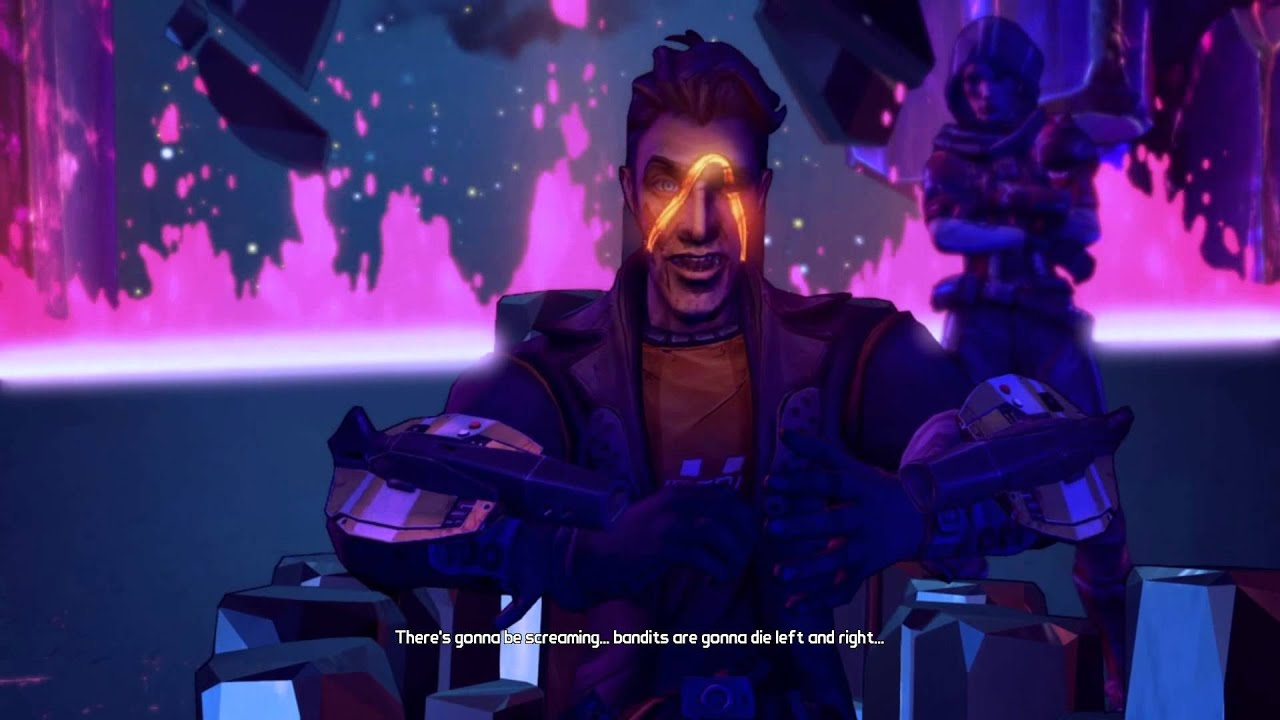 Borderlands The Pre Sequel Handsome Jack Scar Origin Ending