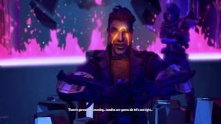 Borderlands: The Pre-sequel! - Handsome Jack Scar Origin + Ending
