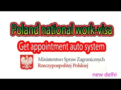 How To Get Poland National-work Visa Appointment || E-Konsulat Auto System 2018