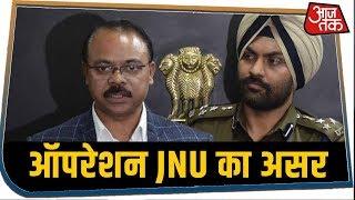 आजतक के स्टिंग ऑपरेशन का असर, दोनों आरोपियों को पूछताछ के लिए बुलाया  #JNUTape