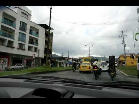 Chasing a beautiful girl in Pereira, Colombia, South America