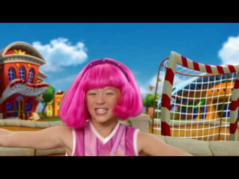 LazyTown - Never Say Never French