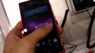 Sony Ericsson Xperia acro HD (IS12S) - Hands-on